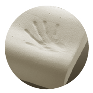 """This viscoelastic foam with an open cell structure, therefore giving you the """"cool"""" feeling when you touch it, relieves pressure points and suitable for tropical climate. Immediately recognizing your body's unique imprint as you sleep on it, KoolComfort™ provides comfort exactly where your body need it."""