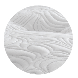 Soft luxurious upholstery at the very top of your mattress to beautify your mattress and ensure the exceptional comfort, for a more comfortable sleeping sensation.