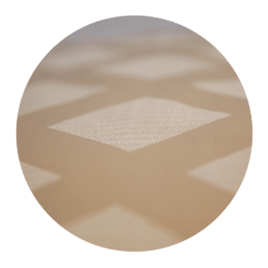 The superior anti skid is an extra sheet at the bottom of the mattress and the surface of the foundation, equipped with locking mechanisms in trapezold shape to keep your mattress stay on top of the foundation, guaranteeing restful nights without disturbance.